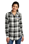 Port Authority® Women's Plaid Flannel Tunic