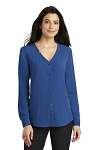 Women's Button-Front Blouse