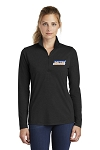 Women's Tri-Blend Wicking 1/4 Zip Pullover