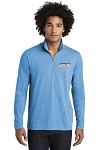 Men's Tri-Blend Wicking 1/4 Zip Pullover