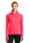 Women's Sport-Wick Stretch 1/2 Zip Pullover