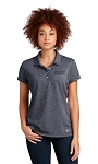 NEW! New Era® Women's Slub Twist Polo
