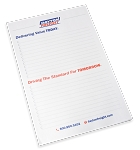 5.5 x 8 Lined Tear-Off Note Pad – 10 Pack