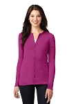 Women's Concept Stretch Button-Front Cardigan