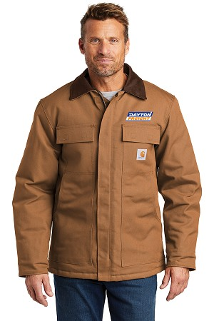 NEW! Carhartt Duck Traditonal Coat - Tall
